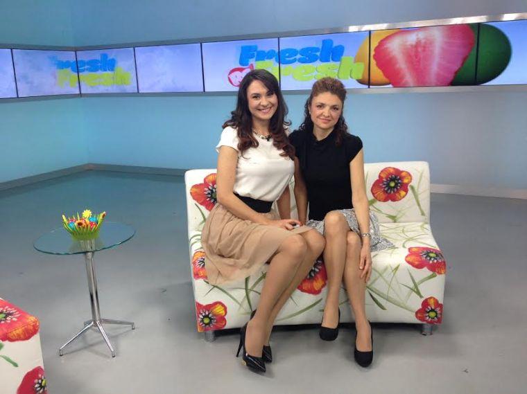 Cu Alexandra Pacuraru, gazda emisiunii