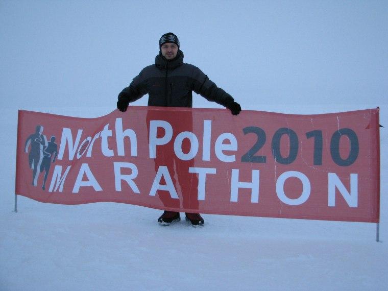 Maratonul de la Polul Nord, 2010