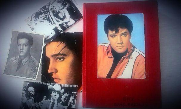 colectia cu pozele si articolele despre Elvis...are aproape 30 de ani vechime