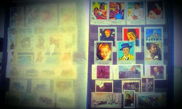 inca sunt mandra de colectia mea de timbre
