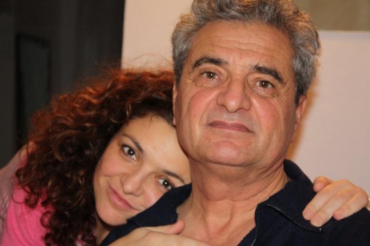 cu tata, decembrie 2010