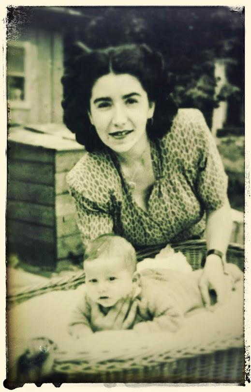 16 mai 1946, cu Rodica