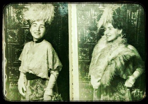 Iubitilor mei unchi, le trimit nebunia unei veri. Cu dragoste, Gigi (8 martie 1947)
