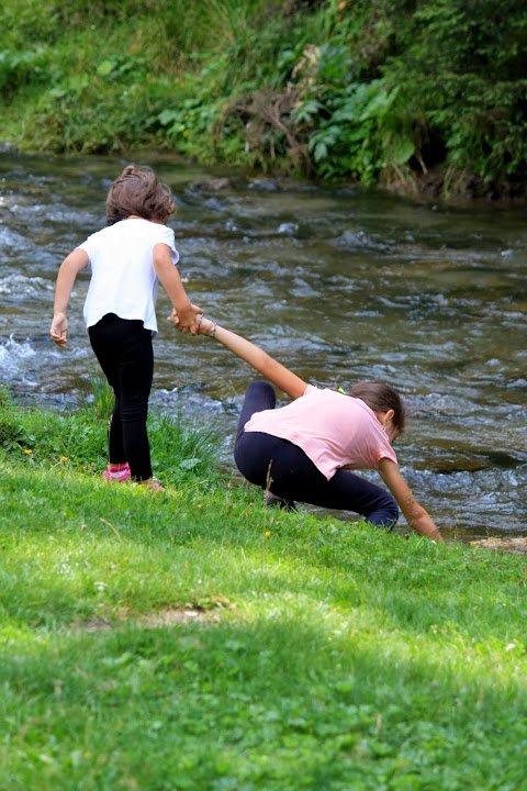 Hand in hand. Gia&Eva. August 2014
