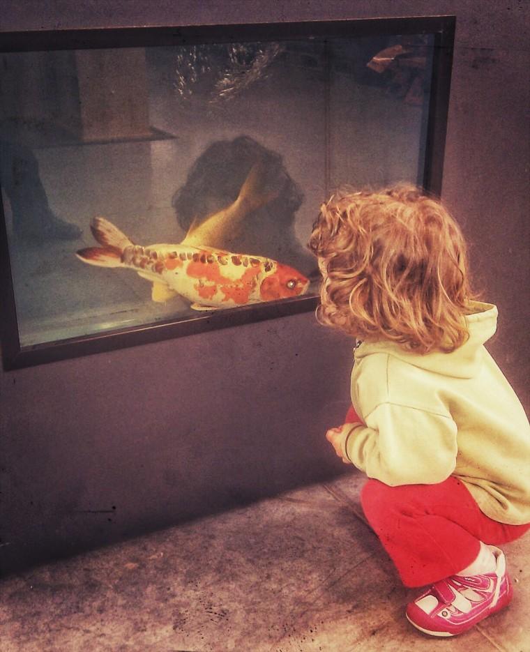 Taliking to a creature just like me. Eva, 2012