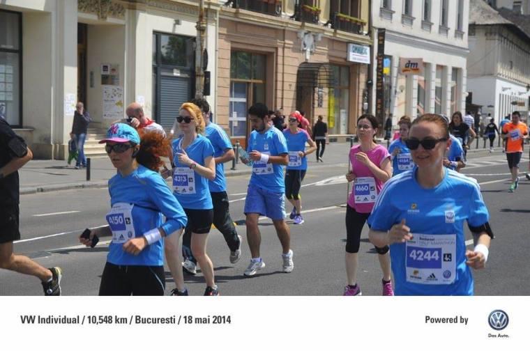 Semimarathon Bucuresti, mai 2014. Cu egoul pe umeri