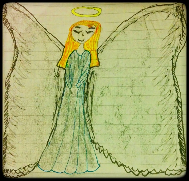 My guarding angel. Gia, febr. 2015
