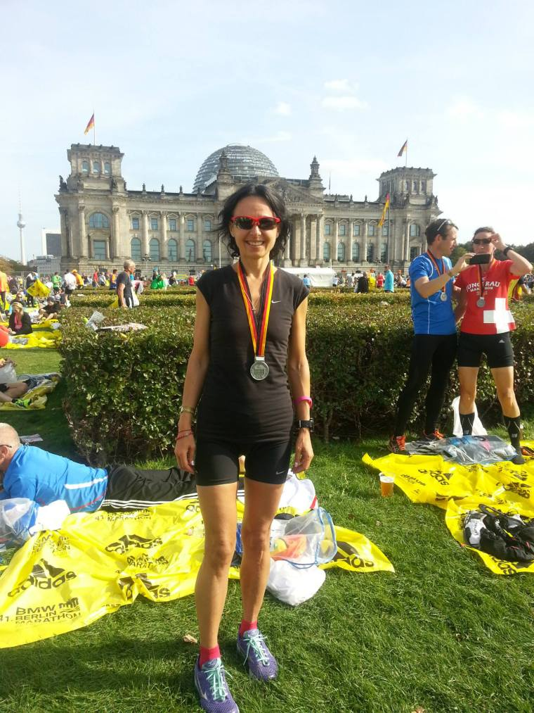 BMW Berlin Marathon. Sept. 2014. Life is a miracle!
