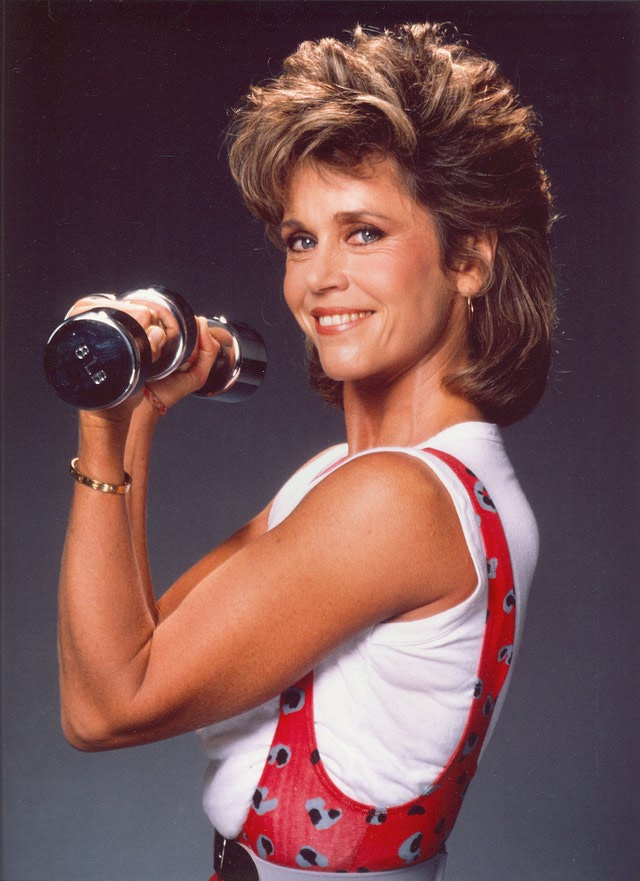 LOS ANGELES - CIRCA 1990: Actress Jane Fonda poses for a portrait circa 1990 in Los Angeles, California. (Photo by Harry Langdon/Getty Images)