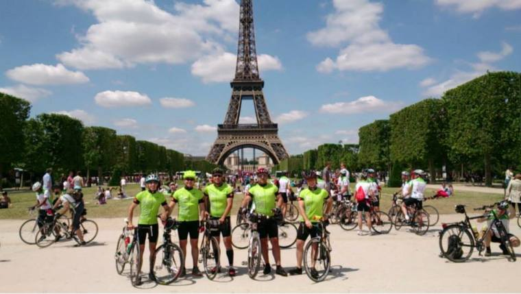Global Biking Initiative 2013 (Paris-Dusseldorf)