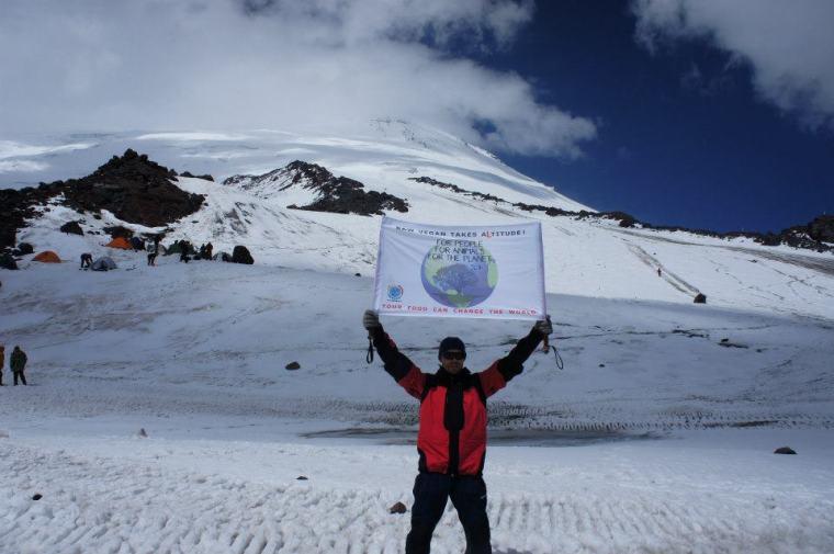 Muntele Elbrus (5642 m), Russia, 2012
