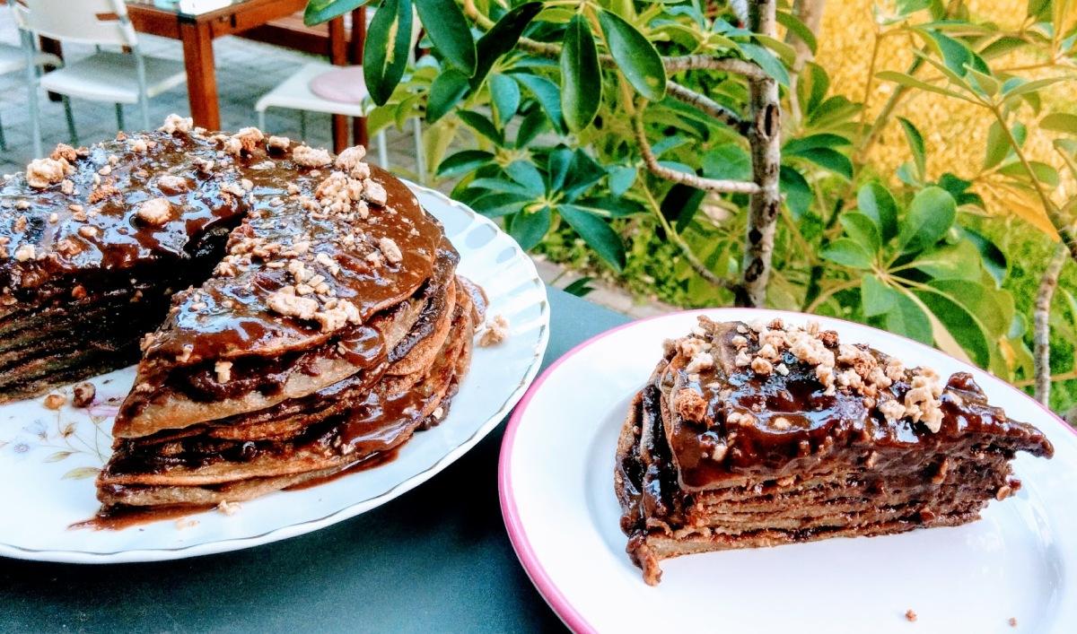 Pancakes...cake