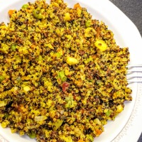 Quinoa with vegetables...Yummmy!